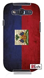 diy phone caseCool Painting Distressed Haitian Haiti National Flag Unique Quality Soft Rubber Case for Samsung Galaxy S4 I9500 - White Casediy phone case