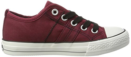 Dockers by Gerli Unisex-Kinder 38ay602-790720 Low-Top Rot (dunkelrot 720)