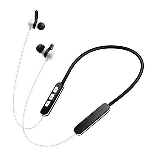 GBSELL Wireless V4.2 Bluetooth CVC 6.0 Headset Stereo Headphone Earphone Sport For iPhone 7 Plus (White)