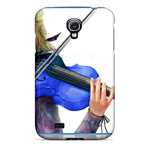 New Galaxy S4 Case Cover Casing(the Blue Eyed Musician)