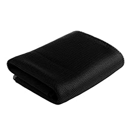 Mimgo Store Black Speaker mesh Speaker grill Cloth Stereo Grille Fabric Dustproof Audio Cloth