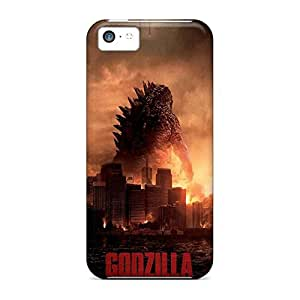 High Quality phone carrying covers High Grade Cases Popular iPhone 5c - 2014 godzilla