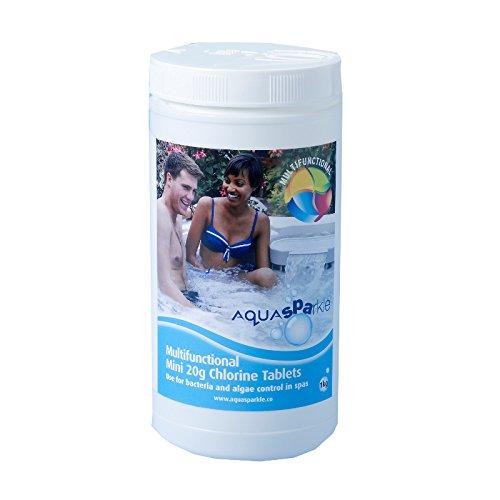 Aqua Sparkle Spa Multifunctional Chlorine 20g Tablets - Tub of 1 Kg CPC