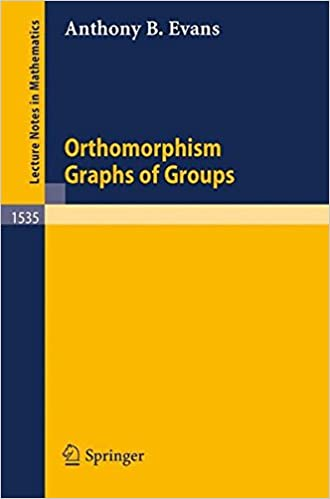 Orthomorphism Graphs of Groups (Lecture Notes in