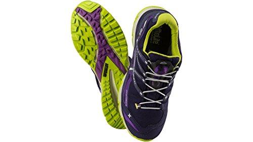 Freizeit Schuh Wander AQX VIOLET Outdoor GREEN violet Chromosome McKINLEY Damen Low LIME SA6wn1