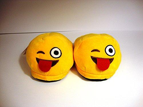 Pantuflas faccine Emoticon Invierno lengua Cod. 2375