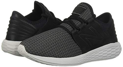 New Balance Men's Cruz V2 Fresh Foam Running Shoe, black/castlerock/nubuck, 7 D US by New Balance (Image #6)