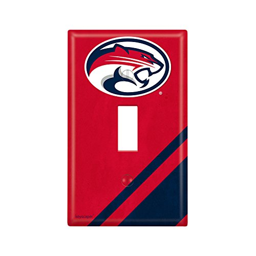 Houston Cougars Single Toggle Light Switch Cover NCAA