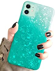 J.west Case for New iPhone 11 Luxury Sparkle Bling Translucent Print Soft Silicone Phone Case Cover for Girls Women Slim Fit Fashion Design Pattern Protective Case for iPhone 11 6.1 inch