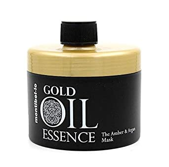 Montibel-Lo Gold Oil Essence Amber y Argan, Mascarilla, 500 ml