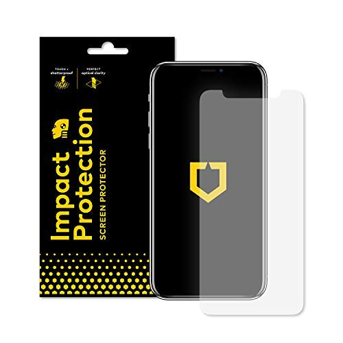 - RhinoShield Screen Protector for iPhone Xs Max [Impact Protection] | High Strength Impact Damping/Dispersion Technology - Clear and Scratch/Fingerprint Resistant Screen Protection