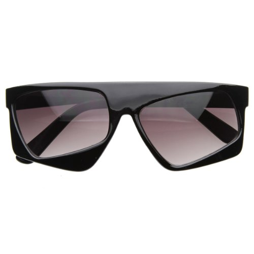 zeroUV - Futuristic Party Novelty Asymmetric Tilted Crooked Sunglasses - Futuristic Party