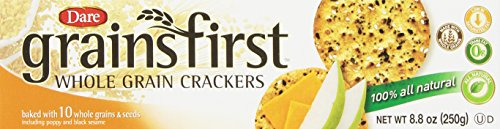Dare Grainsfirst Crackers, 8.8-Ounce Packages (Pack of 12)
