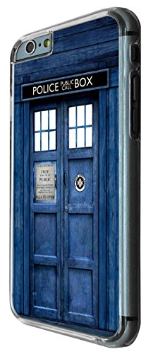 Doctor Who Tardis Police Call Box Iphone 6 Design Fashion Trend Hülle Case Back Cover Metall und Kunststoff