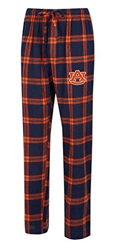 Concepts Sport Auburn University Tigers Men's Pajama Pants Plaid Pajama Bottoms - Merchandise Tigers Auburn