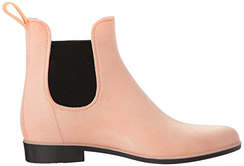 Chooka Women's Velvet Bootie Chelsea Boot Blush RIJ7sCvGF