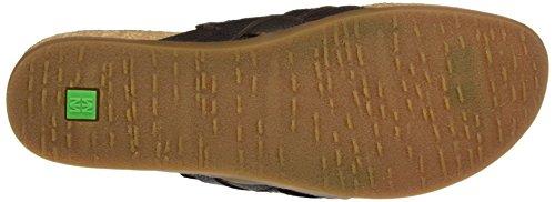 El Naturalista S.A Nf48 Soft Grain Zumaia, Damen Flip Flops Braun (Brown)