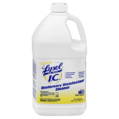 Professional Lysol IC Quaternary Disinfectant Cleaner Concentrate, 4gal (4X1gal)