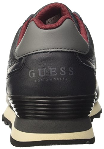 Guess Men's Charlie Low-Top Sneakers Black (Nero Black) 7E9VczD