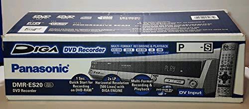 Panasonic DMR-ES20S DVD Recorder Silver (Recorder Dvd Used)