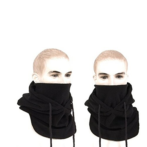 Hats for Men Winter Hat Face Mask Winter Mask Mens Hat Balaclava Face Mask Black
