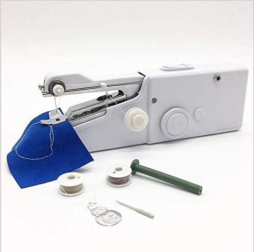 Ouken Mini máquina de Coser portátil de Bolsillo Manual de Costura de Tela práctica Herramienta de Costura: Amazon.es: Hogar
