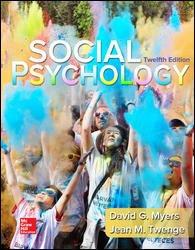 Social Psychology (Ll) W/Access