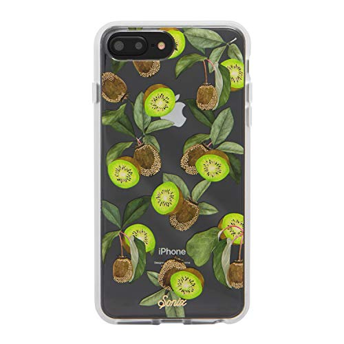 Sonix, Kool Kiwi, (Green Fruit) Cell Phone Case [Military Drop Test Certified] Protective Clear Case for Apple iPhone 6 Plus, iPhone 7 Plus, iPhone 8 Plus