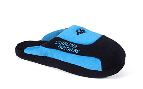 Low Pro Happy LICENSED Slippers Feet Panthers Comfy Carolina Womens OFFICIALLY NFL Mens and Low Feet Pro 6fqgwap