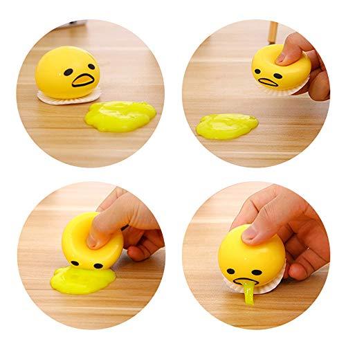 Starhig Emoji Vomit Egg Yolk - Soft & Squishy Stress Relief ?Novelty Gag Toys Spitting Yolk Egg Pr - http://coolthings.us