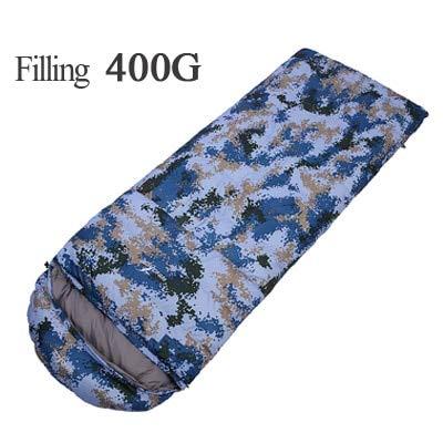 400G 600G 800G 1000G Gänsedaunen Ultralight Schlafsäcke Armee von Militär oder Camouflage Camping Schlafsack