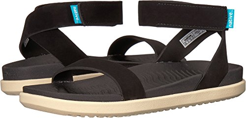 native Shoes Women's Juliet Jiffy Black/Bone White 6 B US - Jiffy Hook