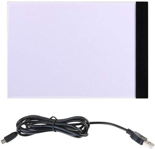 Milisten - Caja de luz LED A4 con alimentación por USB, portátil ...