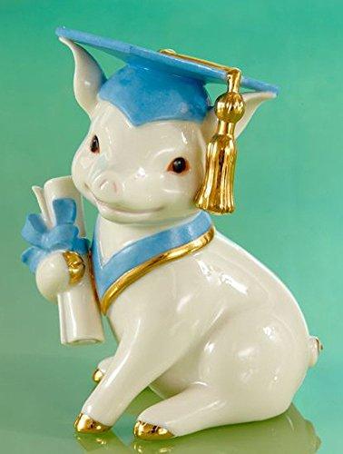 Lenox Graduation Pig Figurine ()