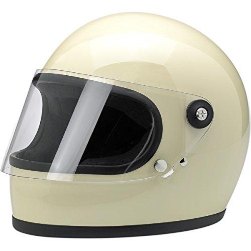 Biltwell Gringo S Helmet (SMALL) (GLOSS VINTAGE WHITE)