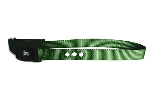 Cheap Dog Fence Receiver Heavy Duty 1″ Nylon 3 Hole Replacement Strap, Green
