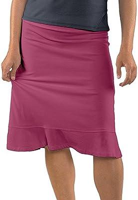 Horny Toad Viento Falda de la Mujer, Mujer, B, Granate: Amazon.es ...