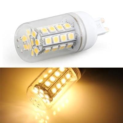 SODIAL(R) G9 7W 36 LED 5050 SMD Lampe ampoule Projecteur 2800K-3500K Lumiere blanche chaude AC220V 320LM