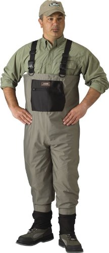 Caddis Men's Taupe Affordable Breathable Stocking Foot Wader, XX-Large Short Stout