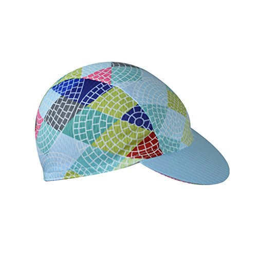 YIDUN Polyester Cycling Cap Sweat Wicking Weaving (Road Womens Cap)