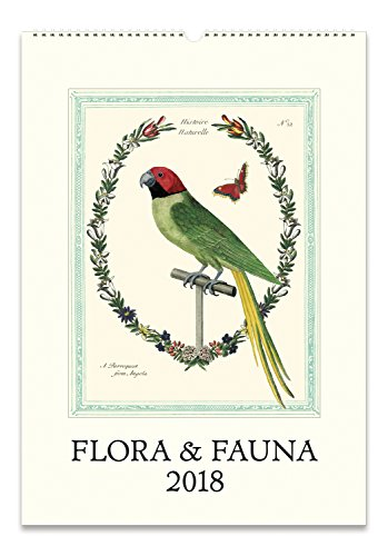 Cavallini Papers 2018 Flora & Fauna Wall ()