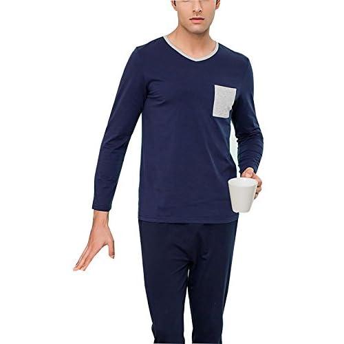 ropa En dormir pijamas Loungewear conjunto algodón Mens hombre venta para algodón de de de conjunto pUrwpRxqz
