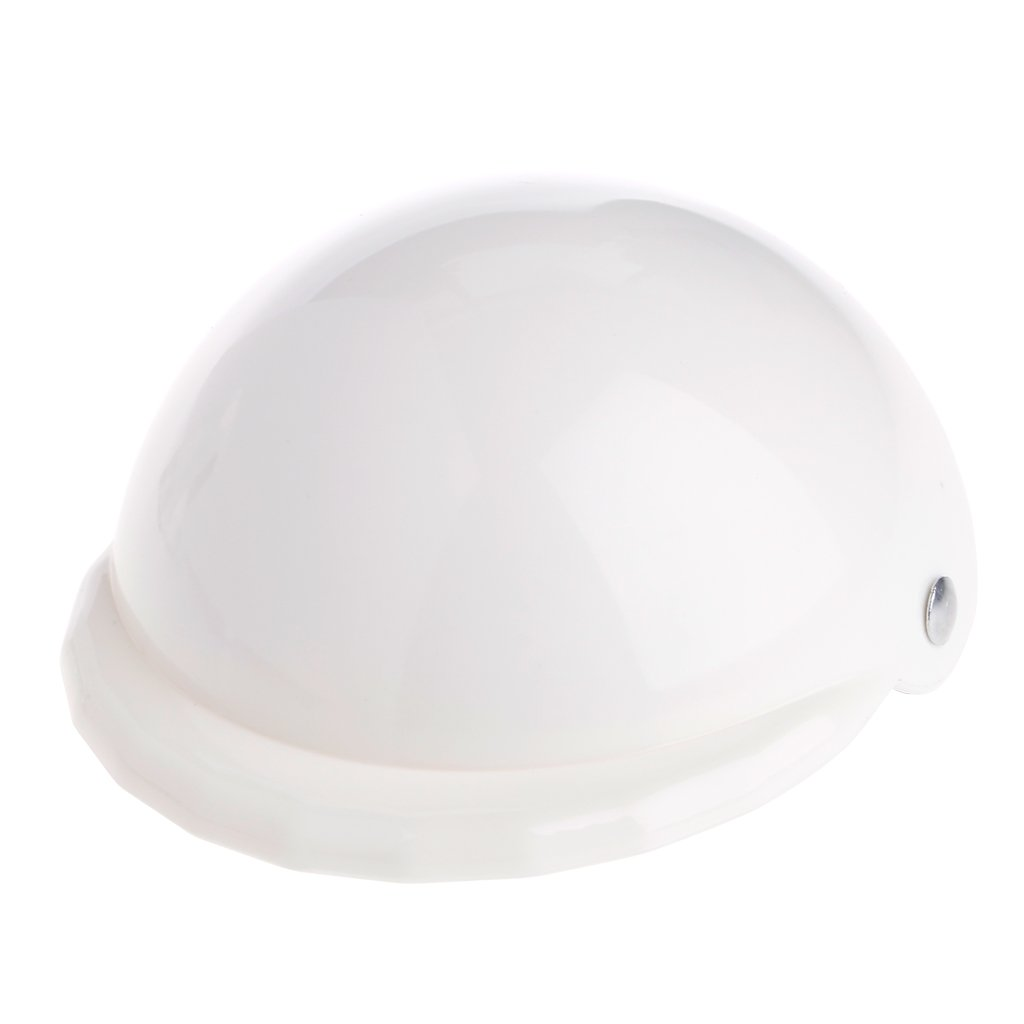 SYlive Dog Hat Large, ABS Plastic Helmets Sports Hat For Dog (M, white)