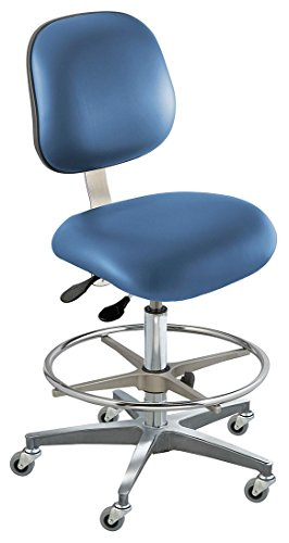 - BioFit - EEC-M-R-ATF-1000-AV106 - Upholstered Vinyl Ergonomic Chair with 19 to 26 Seat Height Range and 300 lb. Weight Capacity, Roy