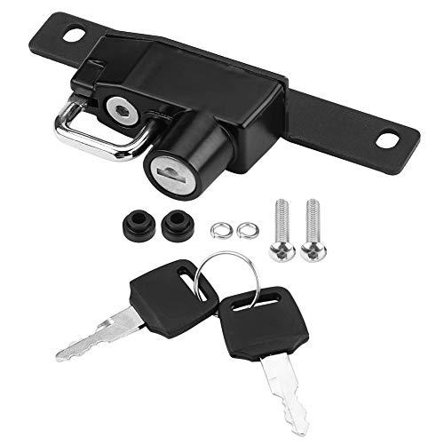 (Acouto Helmet Lock, Motorcycle Right Side Alloy Helmet Lock Mount Hook Keys Locking Set for R Nine T Models 2017-2018)