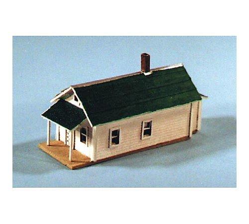 Blair Line Ho Scale Building - Blair Line N Scale Kit Laser-Cut Shotgun House