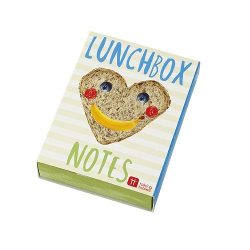 Talking Tables Notes of Love for Lunchbox, Multicolor