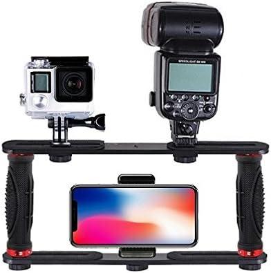 Smartphone Rig, Soporte de Mano estabilizador de Agarre Soporte de ...