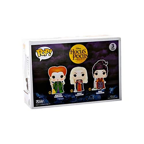 Funko Hocus Pocus Pop Figures - Sanderson Sisters 3 Pack