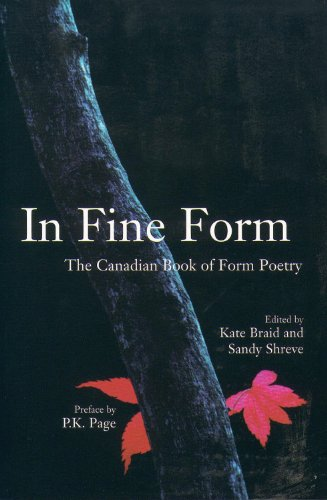 In Fine Form: The Canadian Book of Form Poetry by Brand: Tightrope Books, Inc.